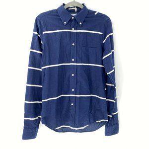 gant rugger the hugger fluffy oxford shirt sz S